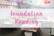 Reading - Foundation (Kindergarten) / Groups and Center ideas! Activities, strategies, printables! Loads of resources!