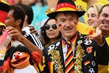 Germany fans... / All kind of Germany fans.