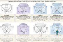About shirts / O koszulach / Cuff, collar, fabrics etc. / Mankiet, kołnierzyk, materiały Infographics, tips, hints / Rady, porady, infografiki