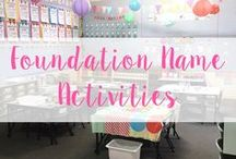 Name Activities - Foundations