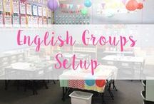 English Groups Setup