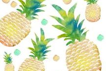 Pineapple Planner Printables / Need some tropical inspiration to get organized this Summer? Our colorful range of Pineapple Planner Printables contains Printable Calendar, Printable Planner, Daily Planner, Weekly Planner, Monthly Planner, Fitness Printables & Planner Organization Printables in a range of sizes to suit most planners and Filofax, including A4, A5, Half Letter, Letter and Personal Size. For more planner printables, visit our shop http://www.etsy.com/shop/stickwithsam.