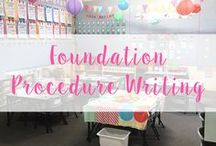 Procedure Writing - Foundation (Kindergarten)