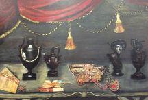 Quadri barocchi dipinti in acrilico su tela o legno ( vendo) / vendo i miei quadri ,se siete interessati contattatemi -adrianaragusa@yahoo.it dipinto ad acrilico su legno o su tela