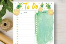 A5 Planner Printables / Check out this great range of A5 planner printables to help you get organized.  They come in a variety of fun designs and include daily, weekly and monthly planners, printable calendars, budget printables, fitness trackers, shopping lists, to do lists and notes, all of which fit neatly into your filofax.   DIY and crafts. Visit our store at http://www.etsy.com/shop/stickwithsam for more great A5 Planner Printables.