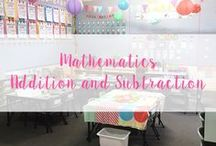 Addition and Subtraction Resources / Foundation (Kindergarten)