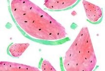 Watermelon Planner Printables / Get tropical this Summer with our range of Watermelon Planner Printables, containing Printable Calendar, Printable Planner, Daily Planner, Weekly Planner, Monthly Planner, Fitness Printables & Planner Organization Printables in a range of sizes to suit most planners and Filofax, including A4, A5, Half Letter, Letter and Personal Size. For more planner printables, visit our shop http://www.etsy.com/shop/stickwithsam.