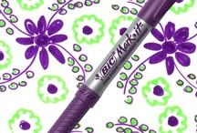 Playful Purple / by BIC Mark-It