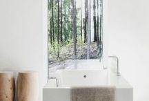 take a bath / bathroom inspirations. badezimmer. badewanne. waschbecken.