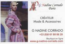Communication G Nadine Corrado / Communication de la Maison #Mode et #Couture G Nadine Corrado Paris