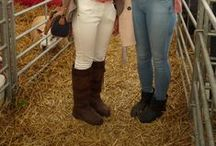 We like your style - Dubarry at the Lincolnshire Show 2013 / We had great fun at the Lincolnshire Show this year spotting all the fab Dubarry fans wearing their favourite boots... and looking great in them! Many of them had bought their boots from us! We love how these classic leather boots can be worn so many ways - from smart preppy chic to casual country tweeds.