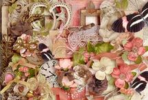 Digital Scrap Kits / Digital Scrapbook Kits, digital scrapbooking kits & collections
