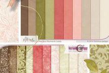 Digital Scrapbook Paper / Digital Scrapbook Paper - Scrapbook Papers & Backgrounds