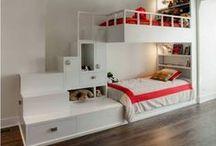 Bunk Beds / Bunk Beds, Kids Bedroom, Bedroom Ideas