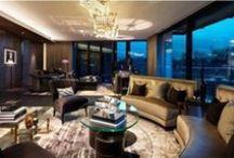 Apartment Interiors / Interior Design, Apartment, Furniture, Living Room Ideas