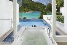 Amazing Bathrooms / Bathroom Ideas, Relaxing, Bathroom Organizing, Luxury Bathroom Design, Bathtubs