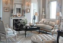 Classical French Interiors / All the beautiful French interiors we find will be thrown in here just for you.