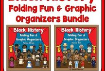 Black History Month / If you're on the lookout for fun and engaging ideas for Black History Month, you've come to the right place! This February use the ideas, resources, FREE downloads, and more you can use with your Kindergarten, 1st, 2nd, 3rd, 4th, 5th, and 6th grade classroom or homeschool students!