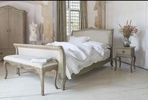 Camille French Style Bedroom Furniture / A classically inspired range of French furniture finished to a very high standard and produced from Oak and Oak veneers. The Camille French Style bedroom collection combines traditional French rustic design with a contemporary weathered Oak finish producing a range that is beautiful, full of character and works well in both modern and traditional setting.