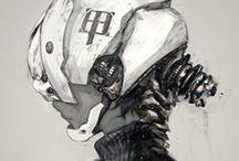 Cyborgs / Referências para Cyborgs, cyberpunk e etc