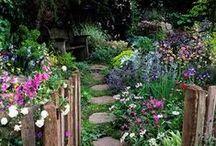 Coisinhas de jardinagem: jardins e vasos / Idéias legais em jardinagem, diversas plantas, vasos, decoração, etc