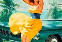 """Pin Up Girls / Las """"Pin Up Girls"""" son las mujeres representativas de los dorados años 20 pero más allá de una escultural figura y gran estilo en su vestuario, este concepto de mujeres, se refería a todas aquellas que rompieron los esquemas sociales de esa época."""