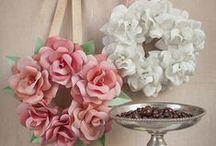 DIY PAPER FLOWERS / PAPER  FLOWERS
