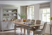 Malvern Dining Furniture / A selection of stunning dining furniture, perfect for country and farmhouse style interiors.