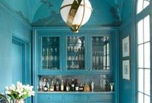 Living With Color: Turquoise Aqua / Turquoise and Aqua are some of the most beloved colors in interior design. Look here for plenty of inspiration for your home  in these cool and tranquil colors.