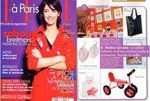 Presse Créatrice Mode G Nadine Corrado / Articles & Emissions - Presse - Web - Télé - Créatrice G Nadine Corrado Paris