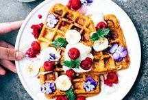 breakfast | vegan / vegan recipes - breakfast | brunch | pancakes | waffles | granola seasonal, healthy (and not so healthy!) recipes for delicious,  plant-based food.