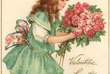Vintage CARD and illustrators