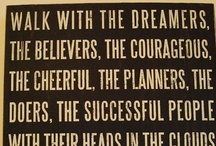 For the Dreamers and Believers  / by Monica Volodarsky