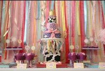 Bday Party Ideas / by Jacqueline Presley {Creative Outpour}