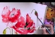 Art - Water Color Techniques & Tutorials / by Lois
