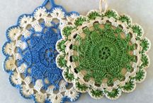 Crochet - Potholders, Dishcloths & Aprons