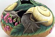 ¸¸:•*´¯ Gourd Art ¯`*:¸¸♥ / by Carole Clenney
