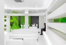 Interiors - Offices / by Marie-Anne Geurden