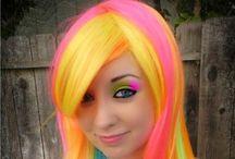 Hair Colouring/Braiding Ideas - Vikki