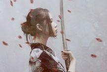 ASIANESQUE / Kimono, Hanbok, Hanfu, etc. / by Mitsuki Aozora