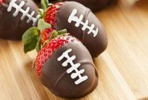 Football - Mom of the Year / Game Day is almost here! Follow along for all the tips, food and ideas to score big when football touches down in your living room!