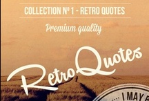 Premium Quality - 6 Vintage Quotes Logo Badges  / Buy from Graphicriver.net