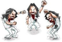 ANDREW W.K. FAN ART / Submit yours on Instagram or Twitter using #AWKART / by ANDREW W.K.