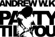 EPs & SINGLES / by ANDREW W.K.