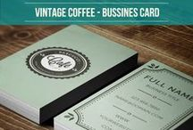 Vintage Coffee Business Card