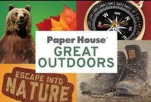 The Great Outdoors / Make nature glamorous with these great Paper House Products!