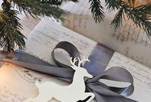 Emballage cadeaux de Noël - Christmas gift packaging / by Astrid Hoellinger
