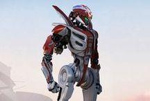 Concept Art | Sci-Fi & Mecha