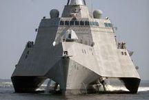 Warships & Submarine