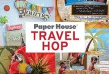Travel the World Co-Hop / Check out these unbelievable creations to log your travel memories!